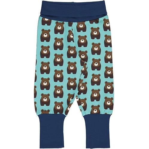 Maxomorra Yoga Pants Bear Print