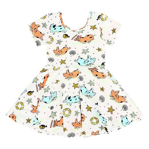 Raspberry Republic Piggy Paradise Dress SS