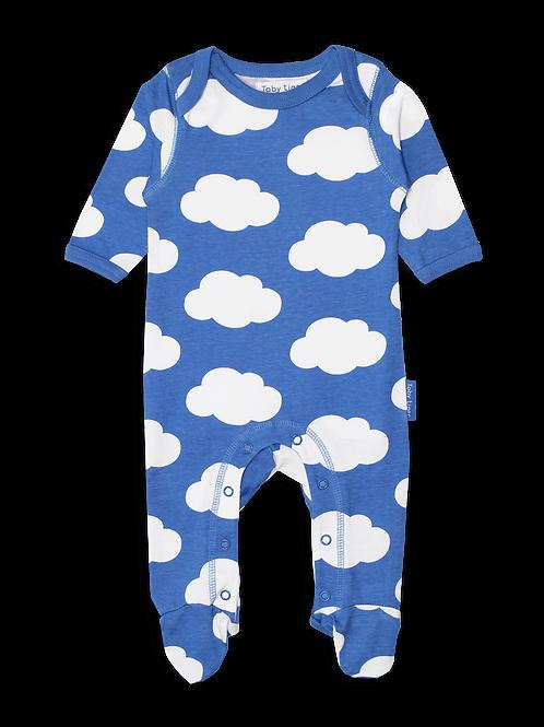 Toby Tiger Babygrow Cloud Print