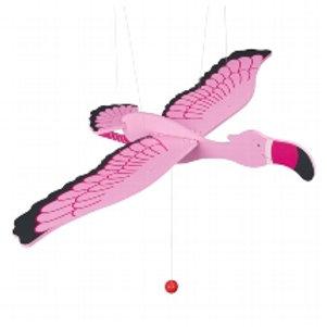 Flying Flamingo Mobile