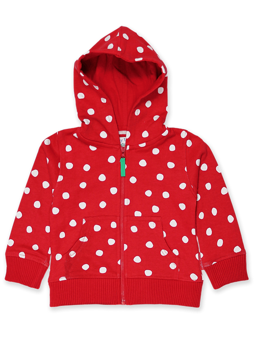 Toby Tiger Red Dot Hoodie
