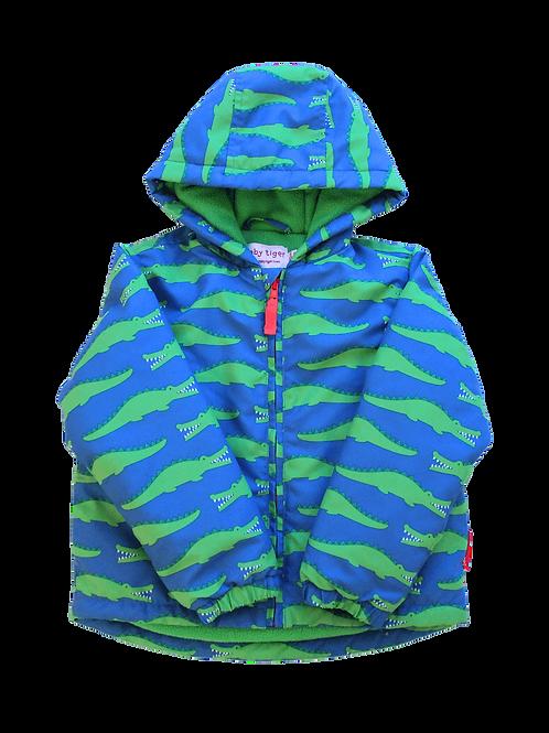 Toby Tiger Shark Print Padded Jacket