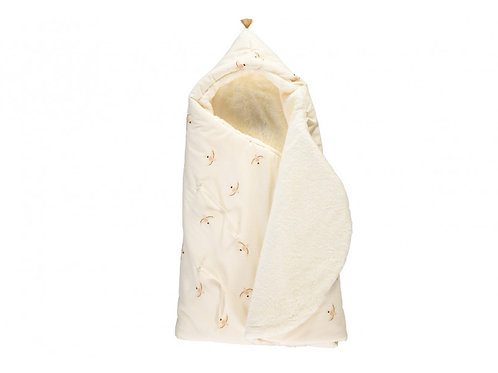 Haiku Birds Winter Baby Nest Bag
