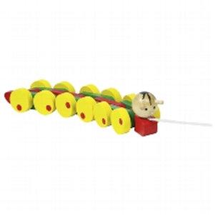 Pull along Caterpillar