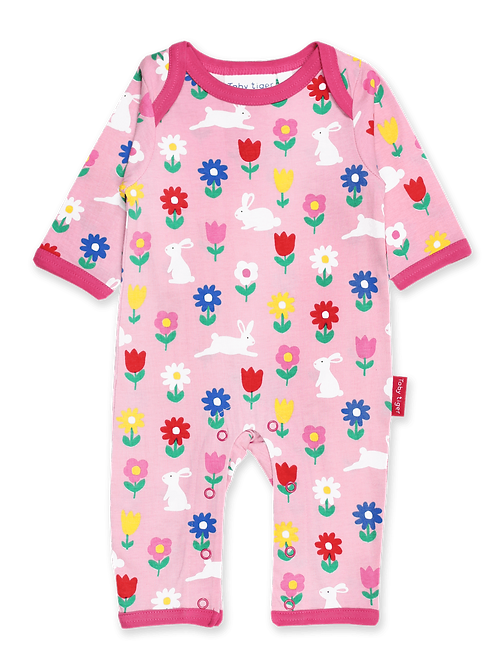 Toby Tiger Sleepsuit Bunny Print