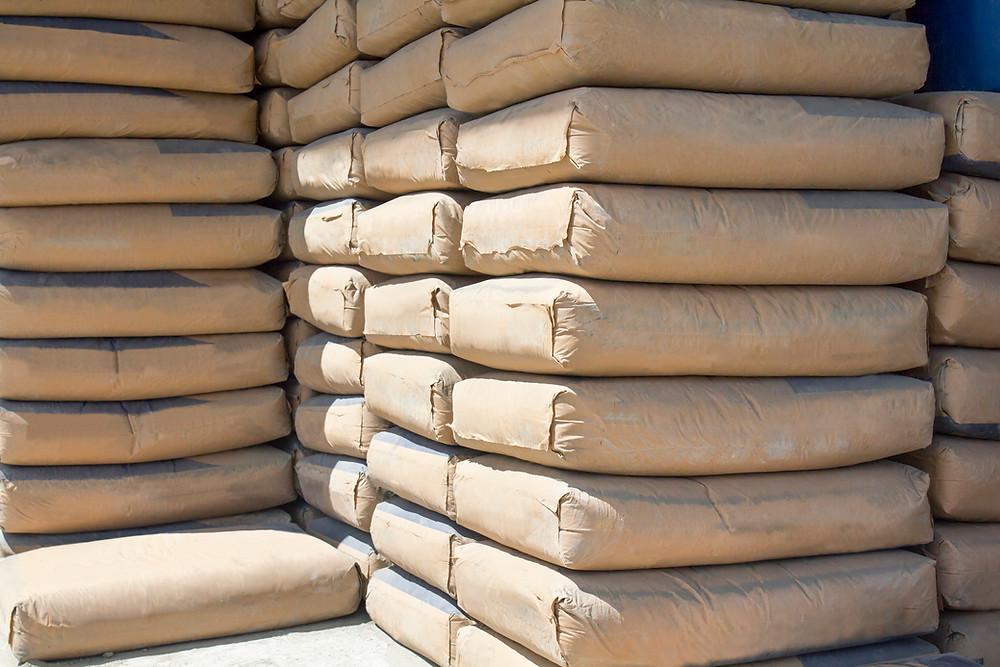 bolsas de cemento