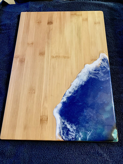 OceanWave Cutting Board-Chacuterie