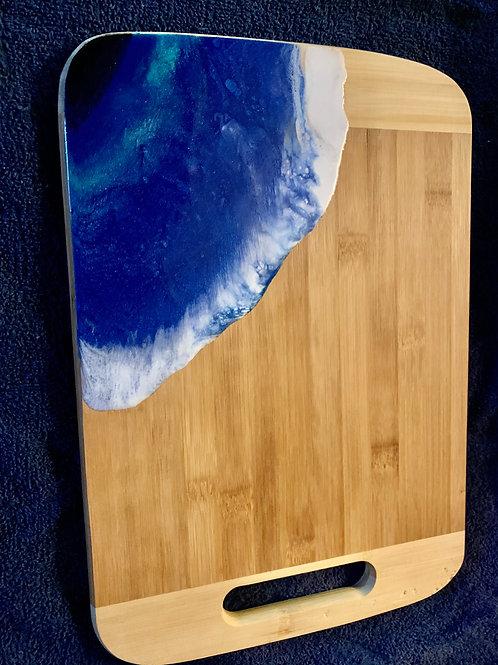 OceanWave Cutting Board-Chacuterie