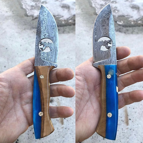 Engraved Blade Buck Knives -