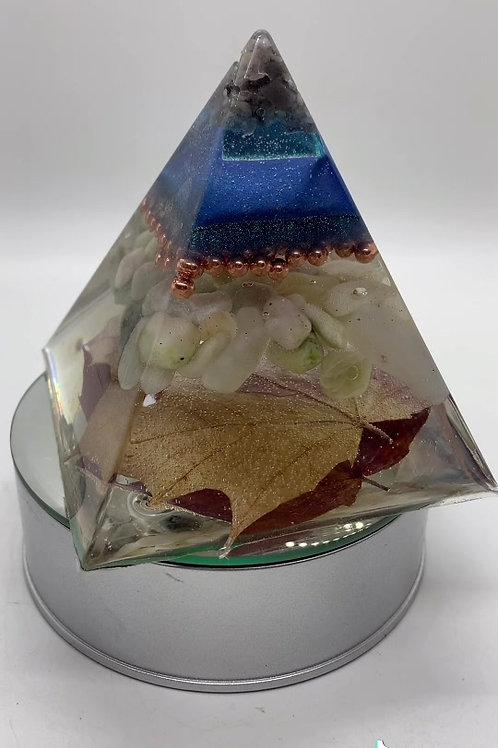 Sept Birthstone Pyramid  -3 inches