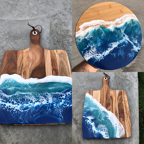 High tide serving trays