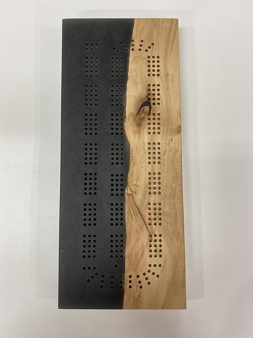 River Cribbage Board