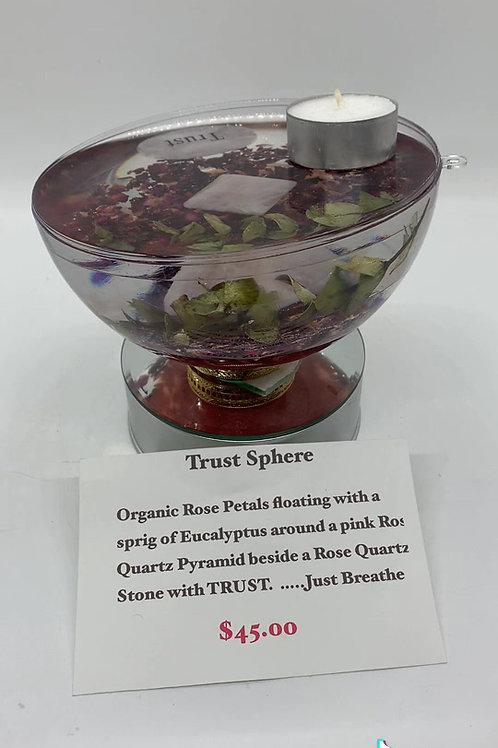 Trust Open Sphere - TRUST *tea light candle option
