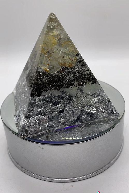 November Birthstone Orgone Pyramid 3 inches