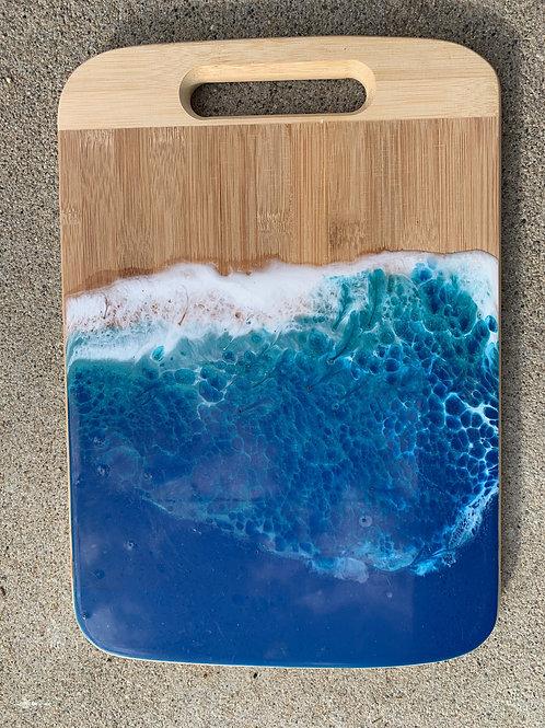Ocean Wave Serving tray
