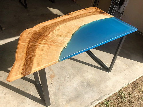 Ocean blue shore desk - Sale price DOES NOT INCLUDE SHIPPING
