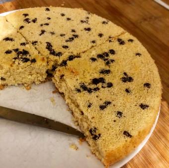 Gâteau léger sans matière grasse