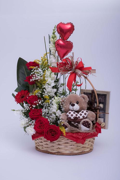 Cesta Valentine's Day