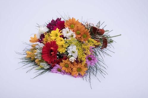 Amarrado de flores do campo