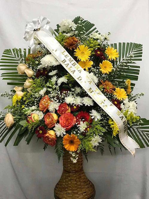 Corbélia de flores grande