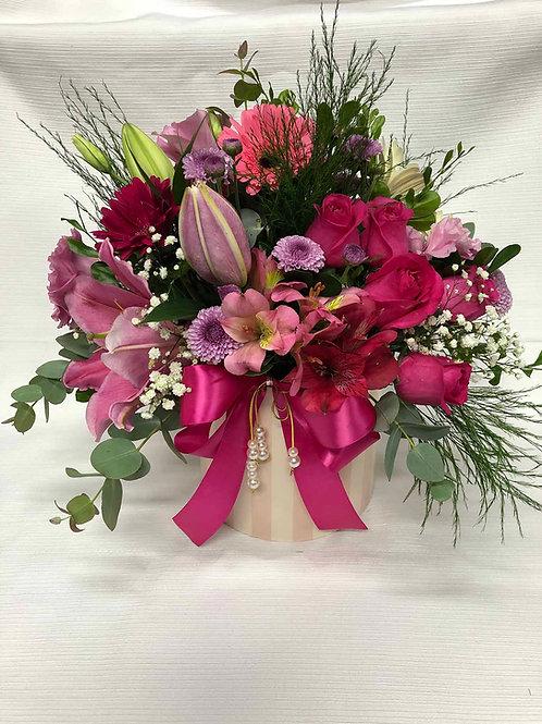 Box de flores do campo