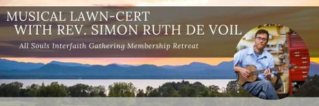 Musical Lawn-cert with Rev. Simon Ruth De Voil