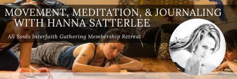 Movement, Meditation & Journaling