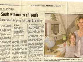 All Souls Welcomes All Souls - Burlington Free Press