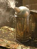 A beekeeping smoker