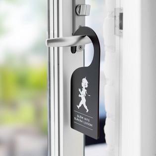 Dörrhängare - Glöm inte släcka ljusen