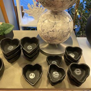 Hjärtformade skålar