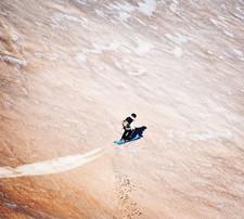Skiing Mars