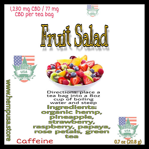 Fruit Salad Hemp Tea