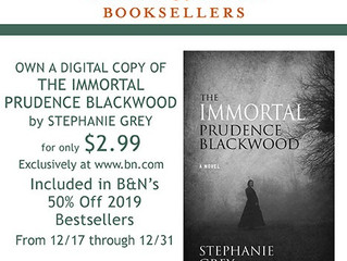 Own a digital copy of The Immortal Prudence Blackwood for only $2.99!