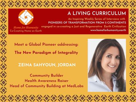 9 May 2021: Living Curriculum #15: Zeina Sahyoun – Community Builder & Health Awareness Raiser