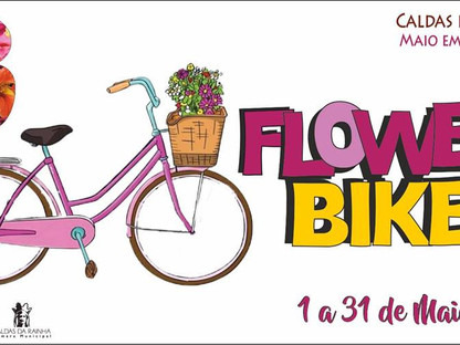 FLOWER BIKE CITY NAS CALDAS DA RAINHA