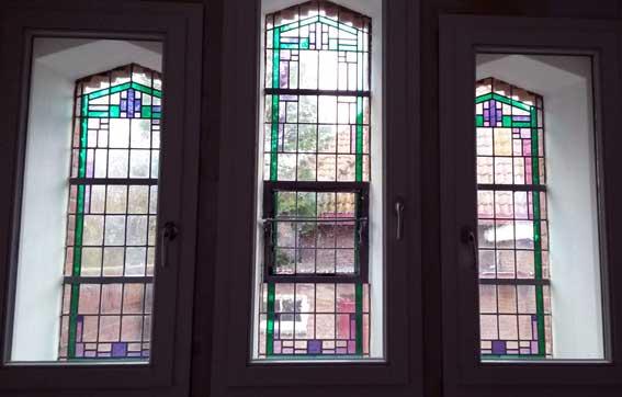 reparaties glas in lood