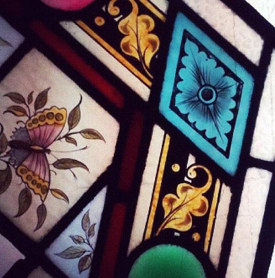 victoriaans glas in lood