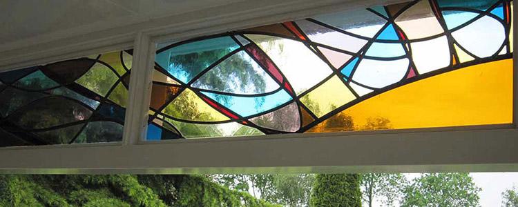 glas in lood veranda