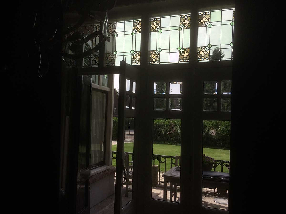 Glas in lood reparatie Helmond