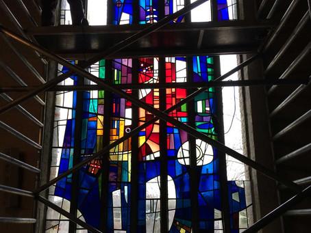 Restauratie kerk Vredepeel