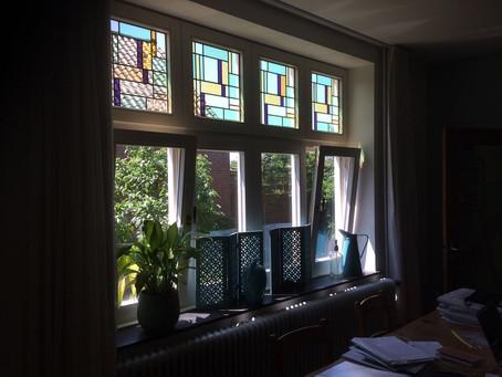 Glas in lood isolatie jaren 30 woning