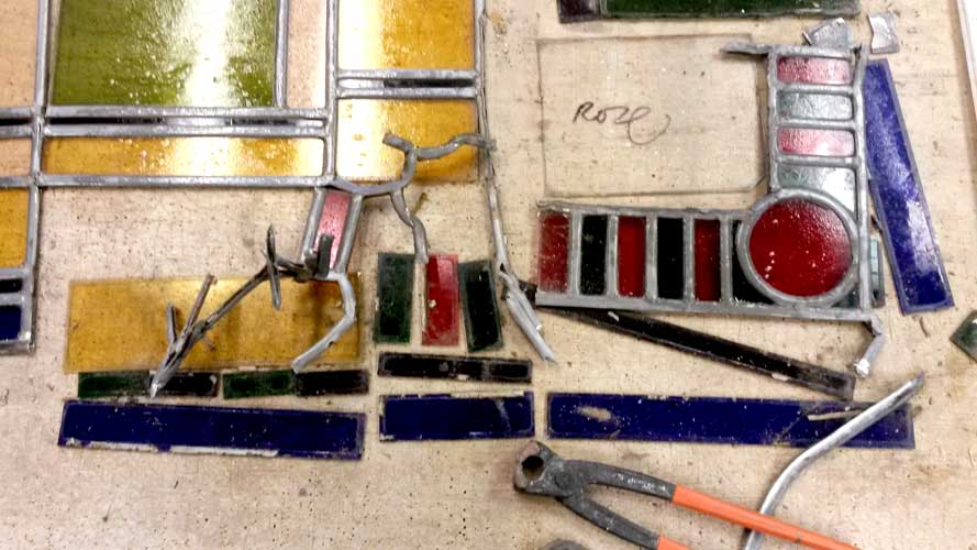 glas in lood atelier art deco