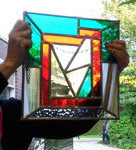 workshop glas in lood raamhanger