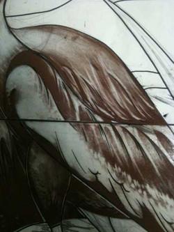 brandschilderen vogel