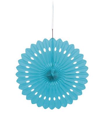 """Baby Blue16"""" Paper Fan"""