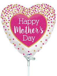 Glittering Mother's Day Confetti Mothers Day Std Foil Balloon
