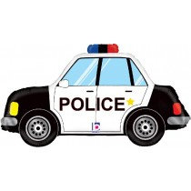 Police Car Super Shape