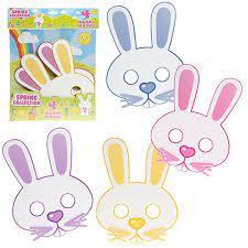 Pack of 4 Easter Bunny Masks
