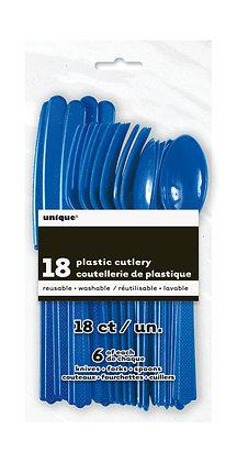 Royal Blue Cutlery